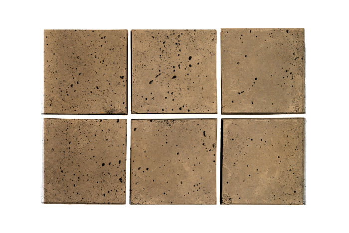 3x3 Artillo Caqui Travertine