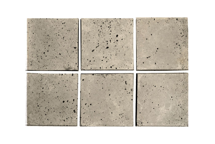 3x3 Artillo Early Gray Travertine