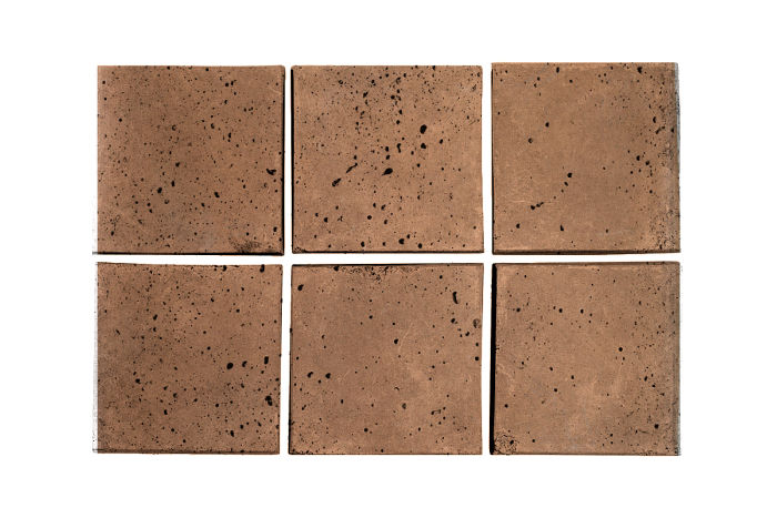 3x3 Artillo Flagstone Travertine