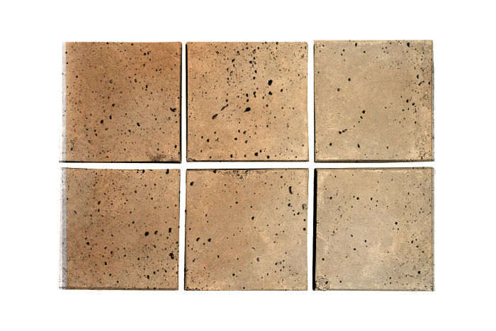 3x3 Artillo Hacienda Flash Travertine