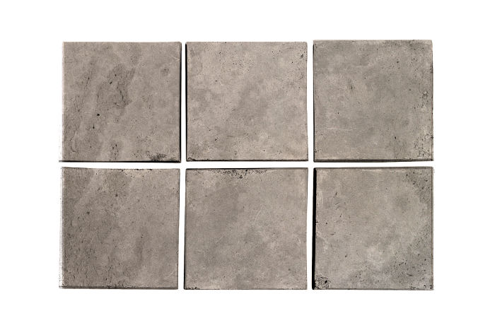 3x3 Artillo Natural Gray Limestone
