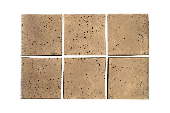 3x3 Artillo Old California Travertine