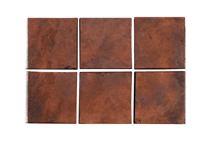3x3 Artillo Red Flash Limestone