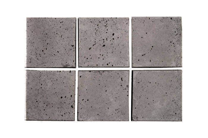 3x3 Artillo Sidewalk Gray Travertine