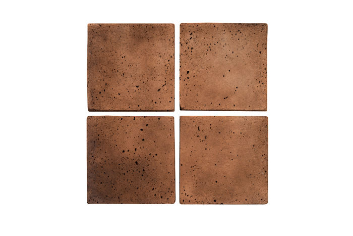 4x4 Artillo Cotto Dark Travertine