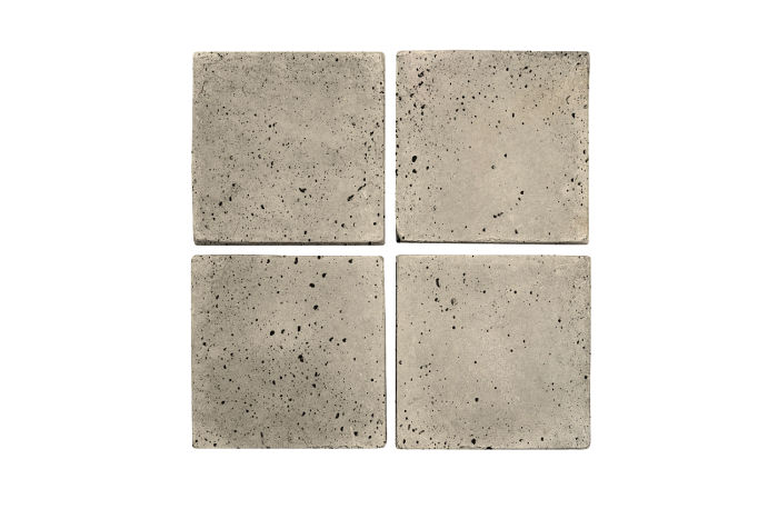 4x4 Artillo Early Gray Travertine