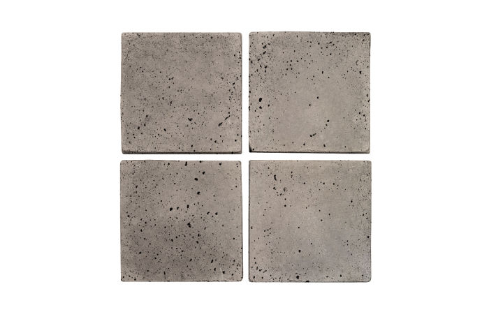 4x4 Artillo Natural Gray Travertine