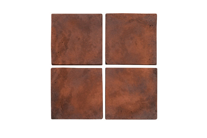 5x5 Artillo Red Flash Limestone