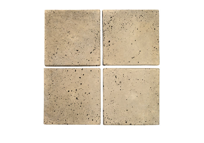 6x6 Artillo Bone Travertine