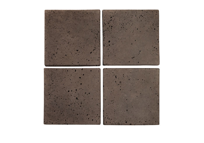 6x6 Artillo Charley Brown Travertine