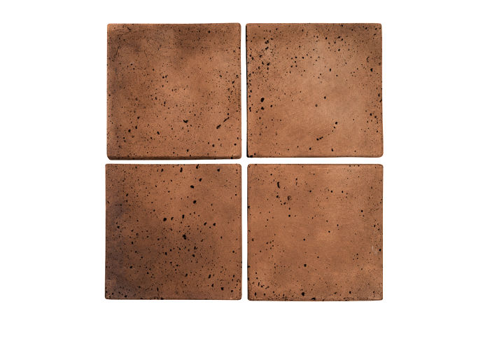 6x6 Artillo Cotto Dark Travertine