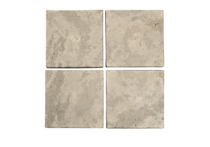 6x6 Artillo Early Gray Limestone