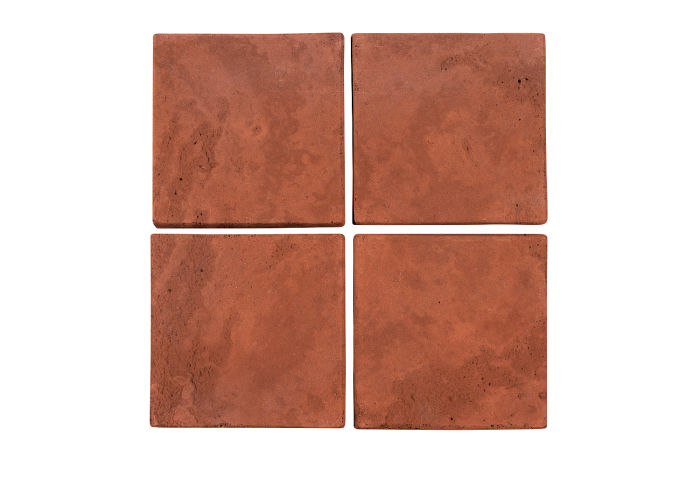 6x6 Artillo Mission Red Limestone