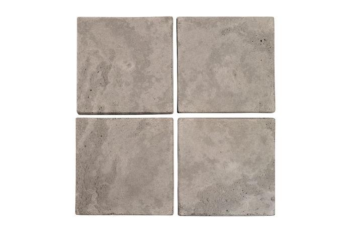 6x6 Artillo Natural Gray Limestone