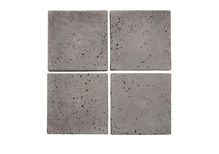 6x6 Artillo Sidewalk Gray Travertine