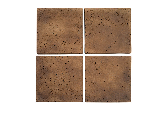 6x6 Artillo Tuscan Mustard Travertine