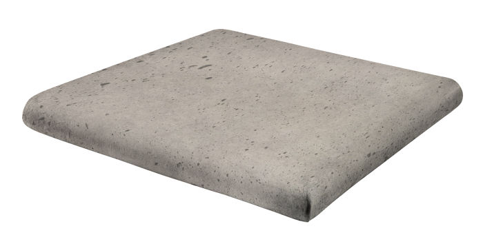 12x12 Artillo Stairtread Corner Natural Gray Luna