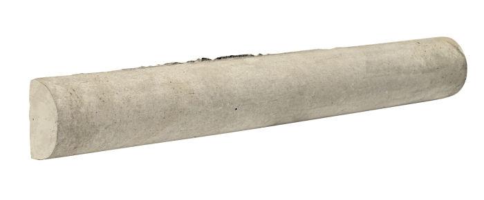 1.5x12 Stairtread Head Early Gray Limestone