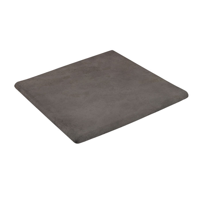 12x12 Step On Stairtread Corner Charcoal Limestone