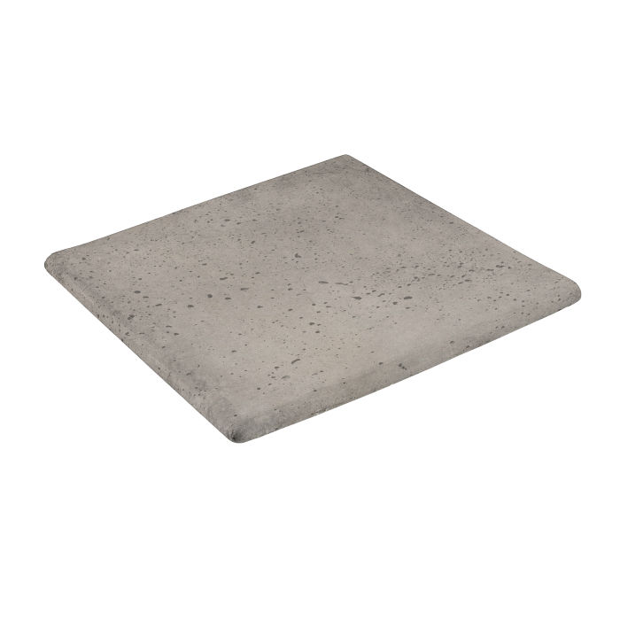 12x12 Step On Stairtread Corner Natural Gray Travertine