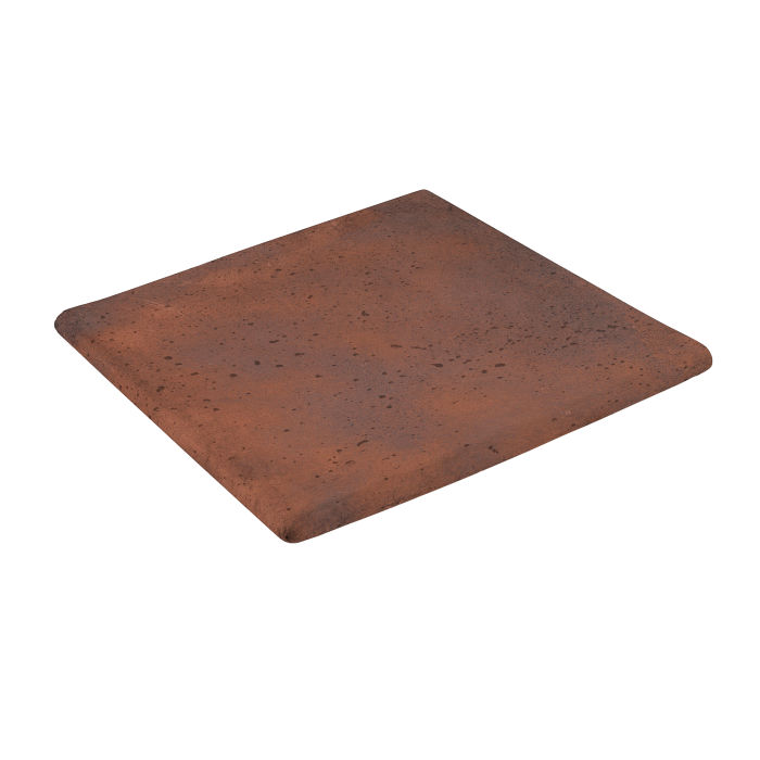 12x12 Step On Stairtread Corner Red Flash Travertine