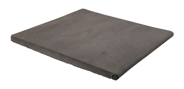 12x12 Step On Stairtread Charcoal Limestone