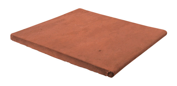 12x12 Step On Stairtread Mission Red Limestone
