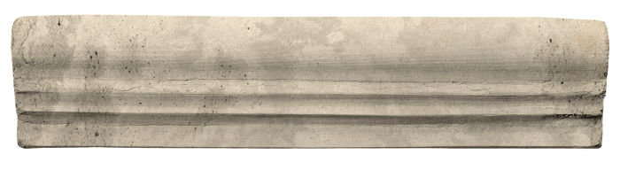 2.5x12 Viejo 12 Early Gray Limestone