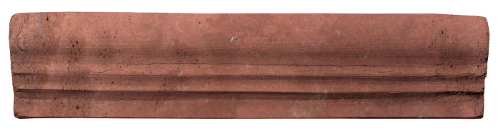 2.5x12 Viejo 12 Spanish Inn Red Limestone