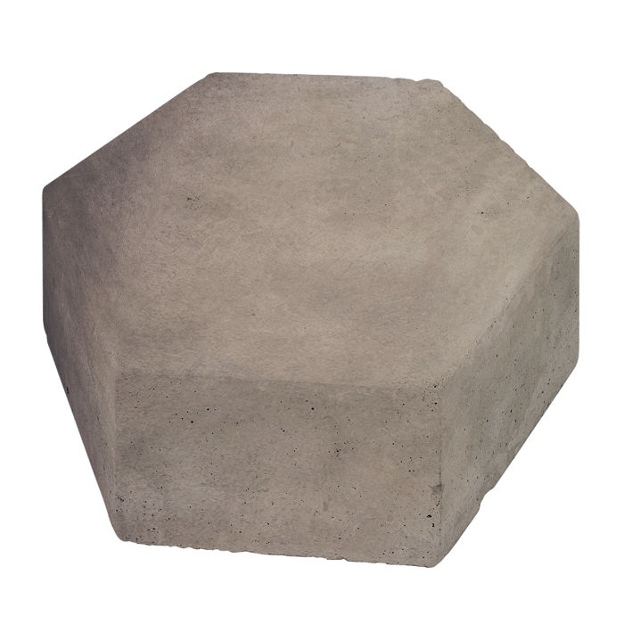 8x8 California Pavers Hexagon Antik Gray