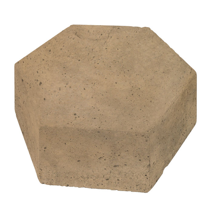 8x8 California Pavers Hexagon Caqui