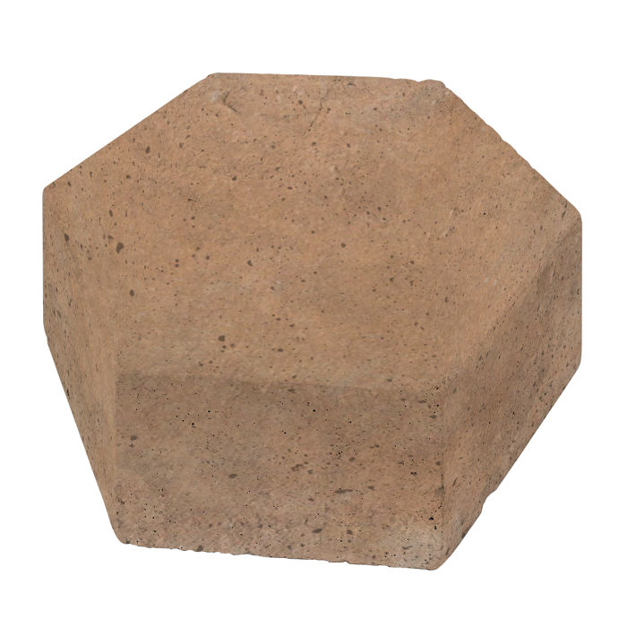 8x8 California Pavers Hexagon Gold