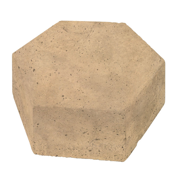 8x8 California Pavers Hexagon Old California