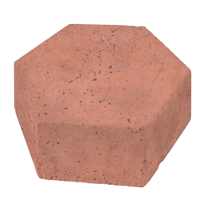 8x8 California Pavers Hexagon Rosa