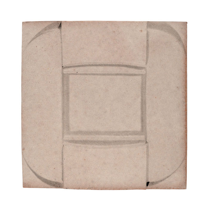 6x6 Ceramic Buckle Alabaster CG1u