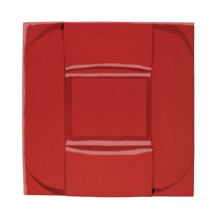 6x6 Ceramic Buckle Apple Valley Red