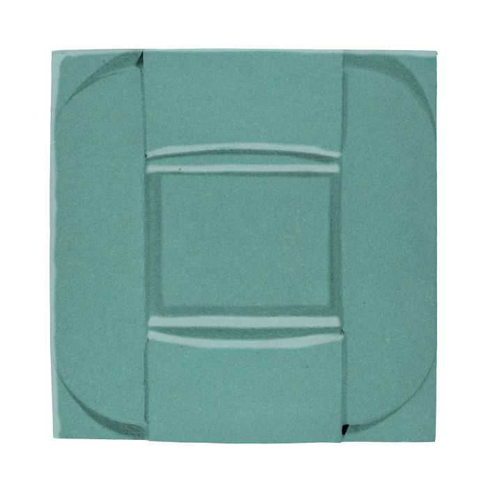 6x6 Ceramic Buckle Blue Haze 7458c