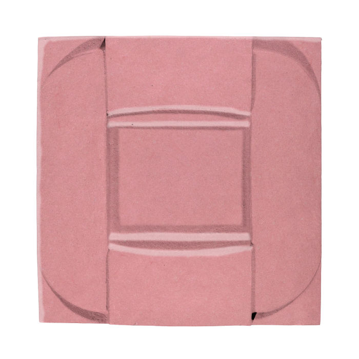 6x6 Ceramic Buckle Bubble Gum