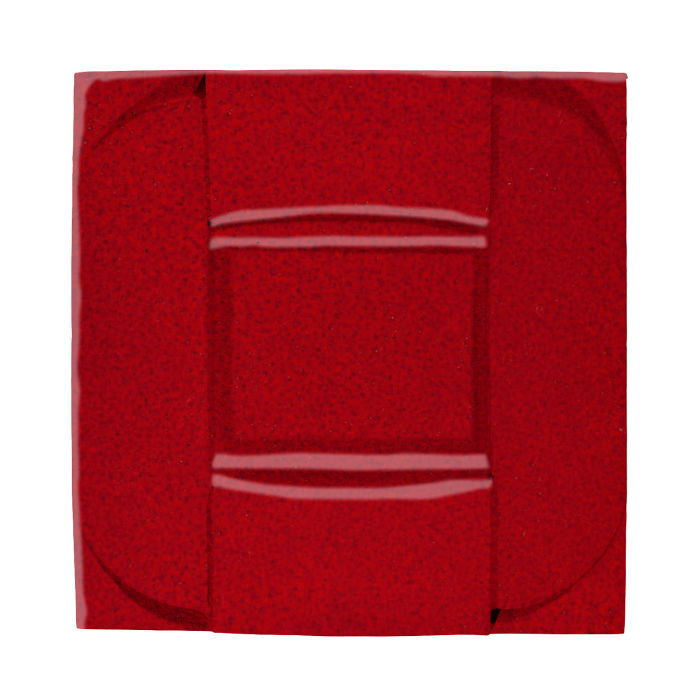 6x6 Ceramic Buckle Cadmium Red 202c
