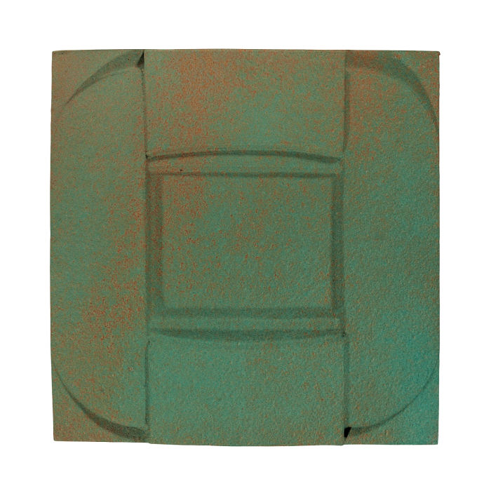 6x6 Ceramic Buckle Copper