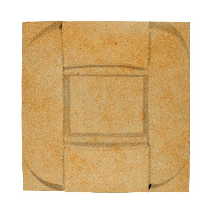 6x6 Ceramic Buckle Deli Mustard 7551u