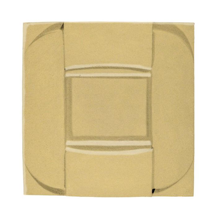 6x6 Ceramic Buckle Egg Cream 0131c