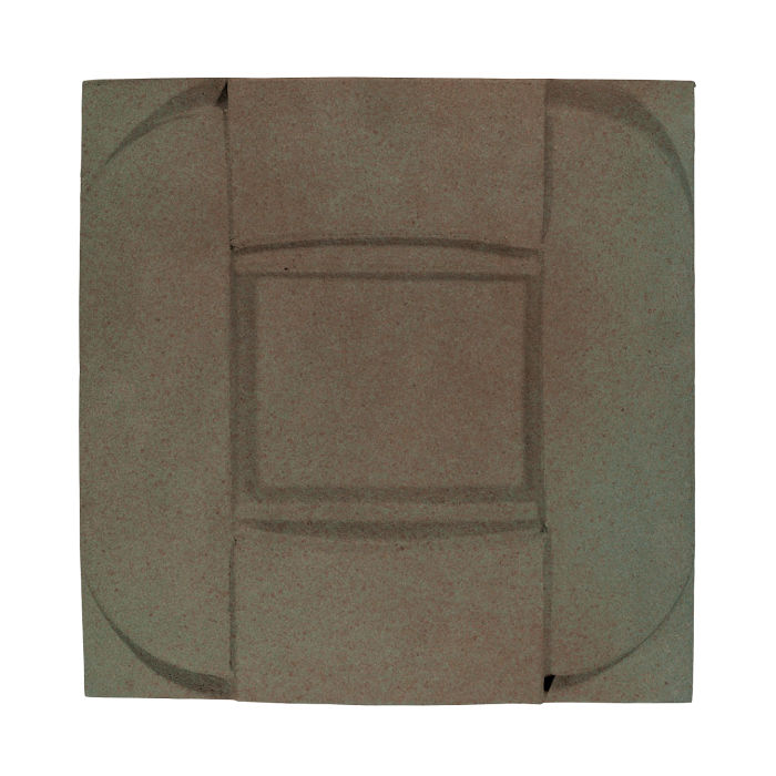 6x6 Ceramic Buckle Elder Green