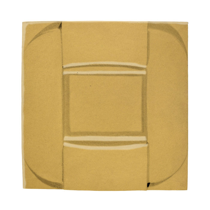 6x6 Ceramic Buckle Gold Rush