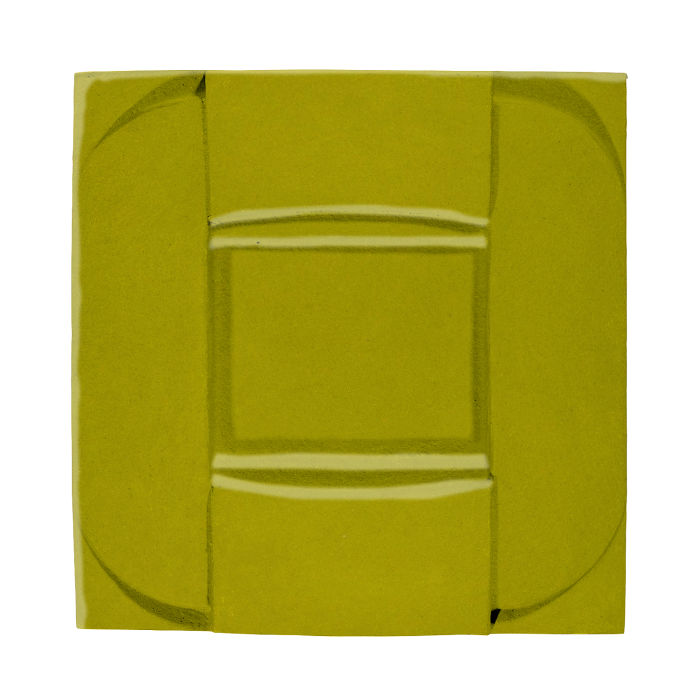 6x6 Ceramic Buckle Guacamole 7495c