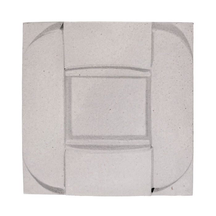 6x6 Ceramic Buckle Great White