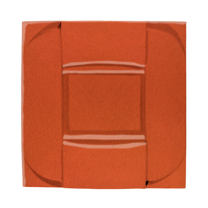 6x6 Ceramic Buckle Hazard Orange
