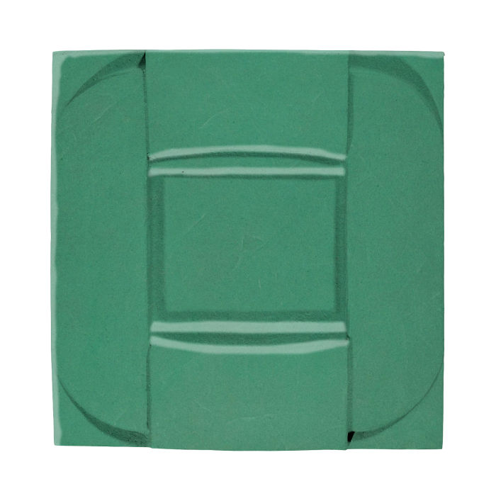 6x6 Ceramic Buckle Kale 7723c