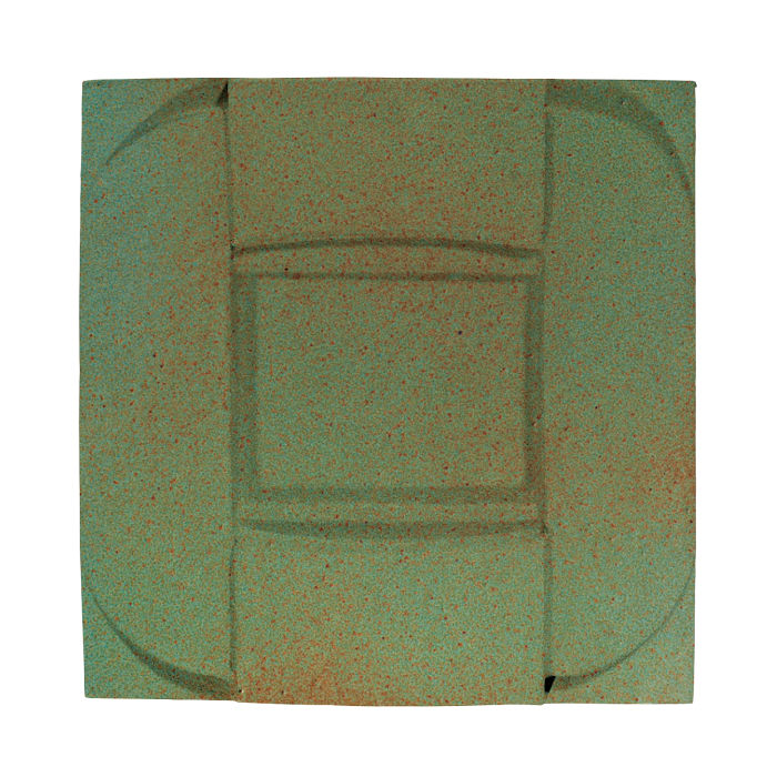 6x6 Ceramic Buckle Light Copper