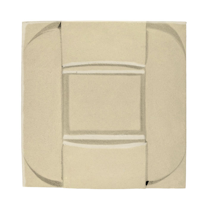 6x6 Ceramic Buckle Light Lemon 7499c